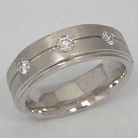 Men's Diamond Wedding Band diawb109-diamond-wedding-band