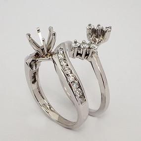 wedding set wedding-ring-set-161
