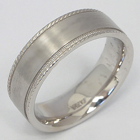 Men's White gold Wedding Band pgwb109-gold-wedding-band