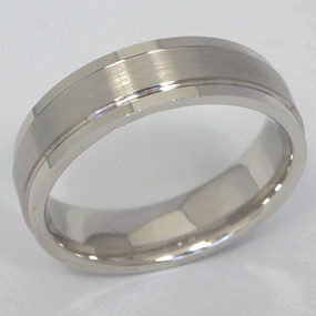 Men's White gold Wedding Band pgwb107-gold-wedding-band