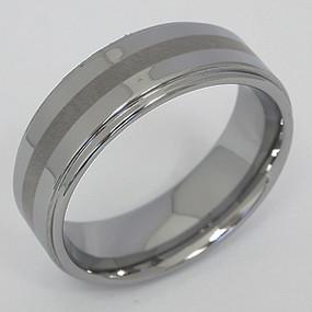 Men's Tungsten Wedding Band tung125-tungsten-wedding-band