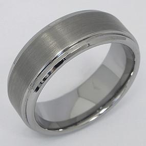 Men's Tungsten Wedding Band tung120-tungsten-wedding-band