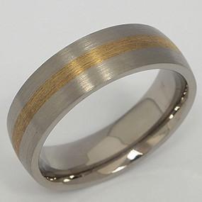 Men's Titanium Wedding Band tita140-titanium-wedding-band
