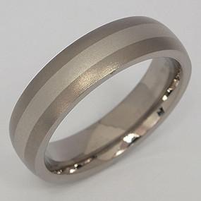 Men's Titanium Wedding Band tita123-titanium-wedding-band