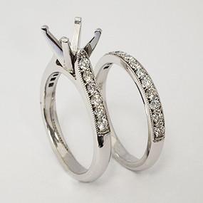 wedding set wedding-ring-set-137