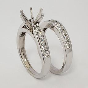 wedding set wedding-ring-set-136