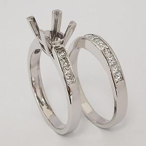 wedding set wedding-ring-set-123