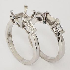 wedding set wedding-ring-set-105
