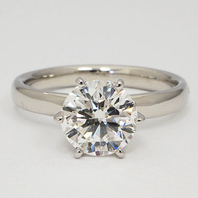 lady's engagement solitaire ring 152-solitaire-engagement-ring