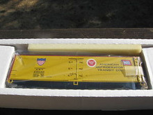 Crown (Weaver) American Refrigerator Transit Co. 40' Reefer, 3 rail or 2 rail