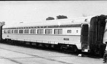 Golden Gate Depot PRR Congressional coach car, 2 rail