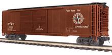 MTH DT&I 50' Double Door Box car, 3 rail