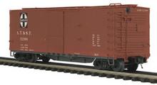 MTH  Santa Fe 40' USRA double sheathed (wood) Box car, 3 rail