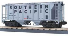 MTH Premier Southern Pacific PS-2 covered Hopper, 3 rail