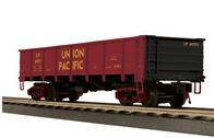 MTH Union Pacific 50 Ton steel Drop Bottom Gondola Car, 3 rail