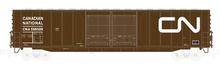 Atlas O CN 60' (tuscan) auto parts  box car,  3 rail or 2 rail