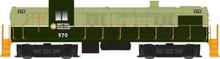 Atlas O BCOL RS-3, 3 rail, tmcc, cruise, smoke