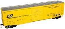 Atlas O Clarendon & Pittsford 50' box car, 3 rail or 2 rail