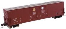 Atlas O David Joseph Co.  53'  DD box car, 3 rail or 2 rail
