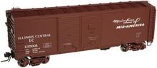Atlas O IC 1937 style 40' DD steel box car, 3 rail or 2 rail