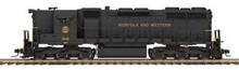 MTH Premier N&W  SD-35  diesel, 2 rail,  p2.0, sound, cruise, exhaust