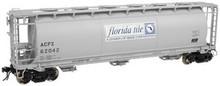 Atlas O Florida Tile  Cylindrical Covered  Hopper, 3 rail or 2 rail