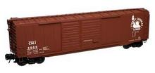 Atlas O CNJ 50' double door box car, 3 rail or 2 rail