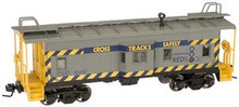 Atlas O CSX  Bay window caboose, 2 rail