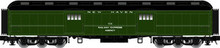 Atlas O NH (green) 60' Baggage car, 2 rail or 3 rail