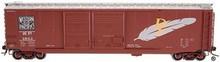 Atlas O special run WP 50' DD DF box car, 2 rail or 3 rail