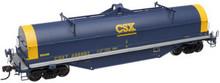 Atlas O CSX (blue) Coil Steel car, 3 rail