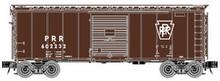 Atlas O PRR (plain keystone) 40' steel box car,  3 rail or 2 rail