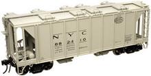 Atlas O NYC 34'  ACF Covered Hopper, 3 rail  or 2 rail