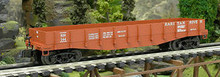 Weaver PDT Exclusive Raritan River 40' wood side gondola, 3 rail or 2 rail