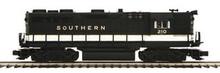 MTH Premier Southern GP-35 High Hood diesel, 2 rail,  p2.0, sound, cruise, exhaust