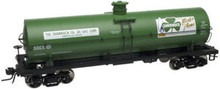 Atlas O Shamrock Oil 11,000 gallon  tank car, 3 rail or 2 rail