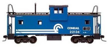 Atlas O CR  Extended Vision caboose, 3 rail
