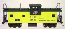 Atlas O CN&W  Extended Vision caboose, 3 rail