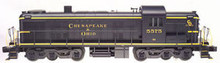 Atlas O C&O  Alco RSD-5 diesel, 3 rail, horn and bell