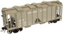 Atlas O special run NP  ACF 34' Covered Hopper, 3 rail or 2 rail