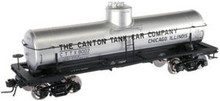 Atlas O  Canton Tank Car Co. 8000 gallon tank car, 3 rail or 2 rail