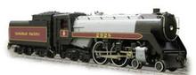 Weaver Brass CP Jubilee steam loco, 3 rail, tmcc
