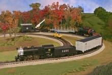 Atlas Industrial Rail Santa Fe Freight train, Less T&T