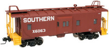 Atlas O Southern  Bay window caboose,  2 rail