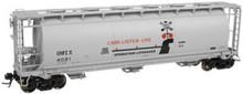 Atlas O G&W (Operation Lifesaver) Cov Hopper, 3 rail