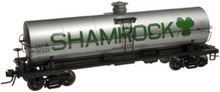 Atlas O Shamrock Petroleum  11,000 gallon tank car, 3 or 2 rail