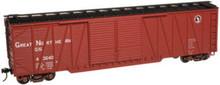 Atlas O GN  50' single sheathed box car, 3 or 2 rail