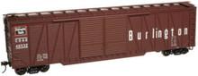 Atlas O CBQ  50' single sheathed box car, 3 or 2 rail