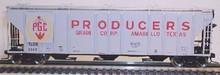 Atlas O Producers Grain PS4427 50' Covered Hopper, 3 or 2 rail