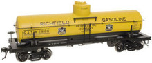 Atlas O Richfield Oil 8000 gallon tank car, 3 rail or 2 rail